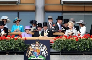 royals box at ascot