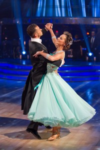 Picture shows: Kara Tointon and Artem Chigvintsev Dance: Viennese Waltz TX: Friday 10th December 2010 9pm